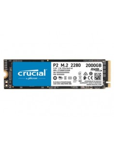 Disk SSD  M.2 80mm PCIe 2TB Crucial P2 NVMe 2400/1900MB/s Type 2280 (CT2000P2SSD8)